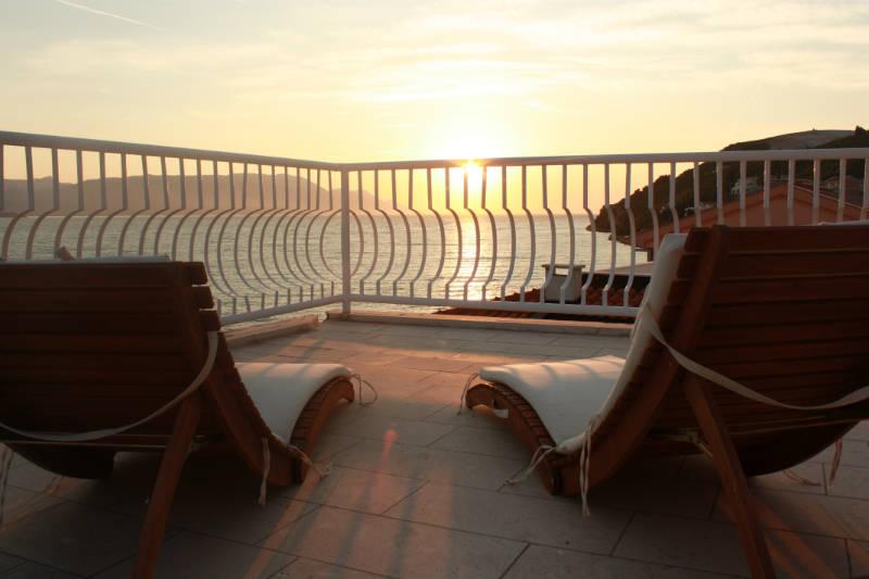 Apartmani Galeb - Zalazak sunca