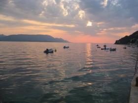 Maestrali i mirno more