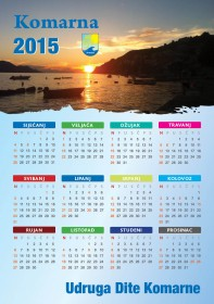 Kalendar Komarna 2015.